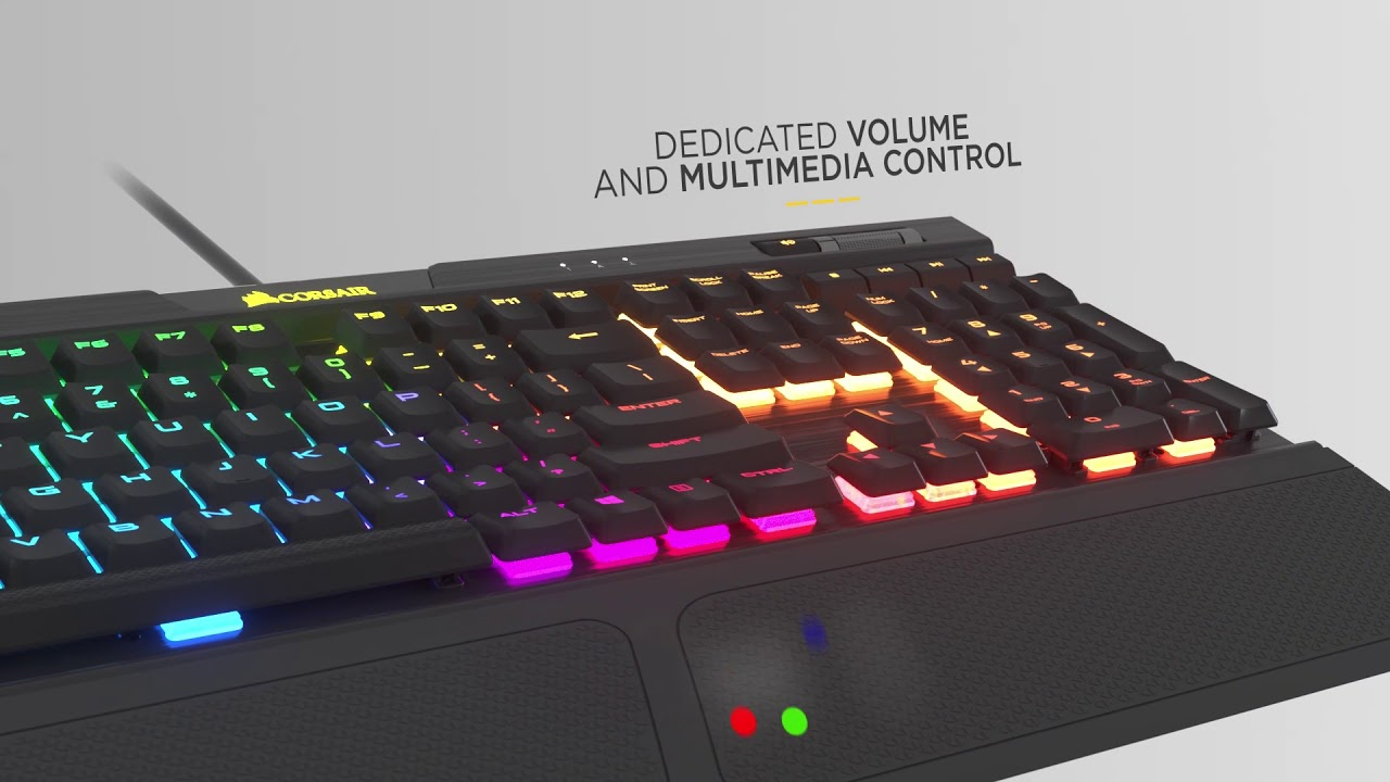 CORSAIR K70 RGB MK 2 LOW PROFILE - Type All Day, Play All Night