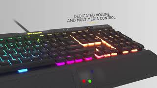 CORSAIR K70 RGB MK.2 LOW PROFILE - Type All Day, Play All Night