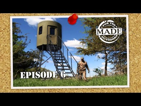"Made for the Outdoors (2016) EPISODE 6: ""Banks Hunting Blinds & G5 Broadheads"""