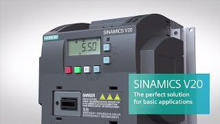 SINAMICS V20 basic solutions converter