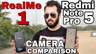 Oppo RealMe 1 vs Redmi Note 5 Pro Camera Comparison  Oppo Realme 1 Camera Review