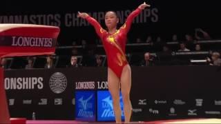 Tan Jiaxin - World Championships 2015 VT TF