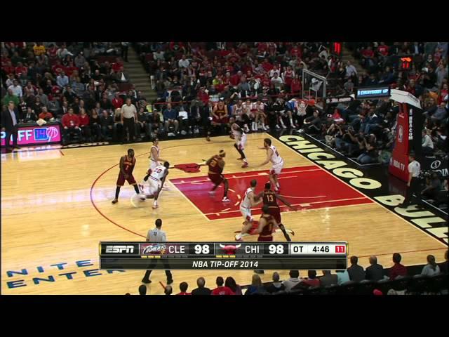 Top 10 NBA Plays: October 31st