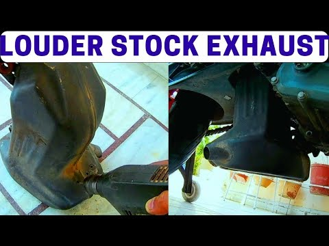 🔥Modifying Stock Exhaust To Get Better Sound and Performance🔥