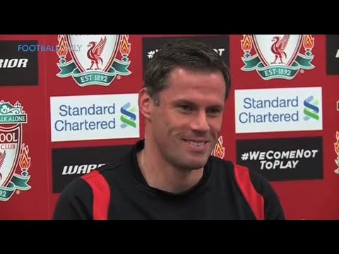 Carragher swears at reporter and labels him 'nosey'