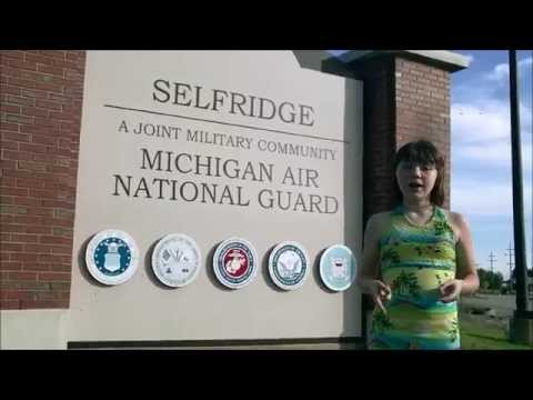 Tour of Selfridge Air National Guard Base