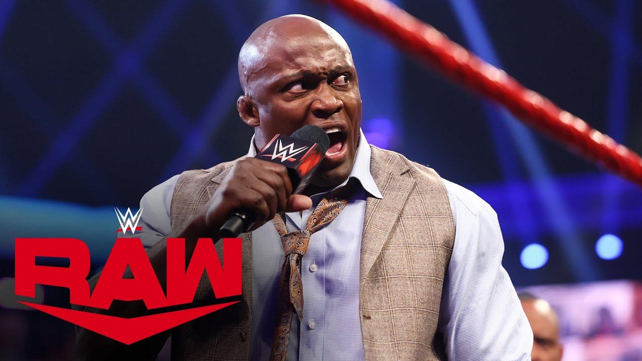 Bobby Lashley berates MVP and demolishes the VIP Lounge: Raw, July 12, 2021