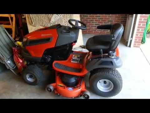 """48"""" Husqvarna Riding Mower Review Pro's and Con's"""