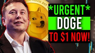 ALL DOGECOIN HOLDERS MUST SEE... DOGE IS GOING TO $1 RIGHT NOW! (DOGECOIN PRICE TARGET PREDICTION)