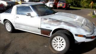 1984 Rx7 GSL-SE with 13b wankel rotary fuel injection and close ratio 5 speed