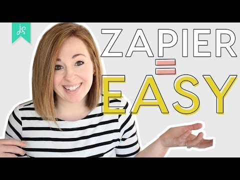 Zapier Tutorial | How to Automate Tasks and STOP WASTING TIME!
