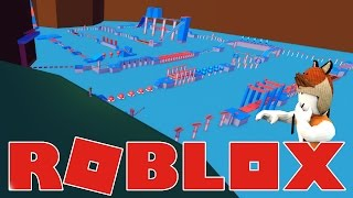 CONQUERING THE WIPEOUT COURSE! - Wipeout Roblox Obby