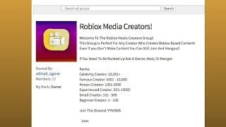 My New Group! (ROBLOX)