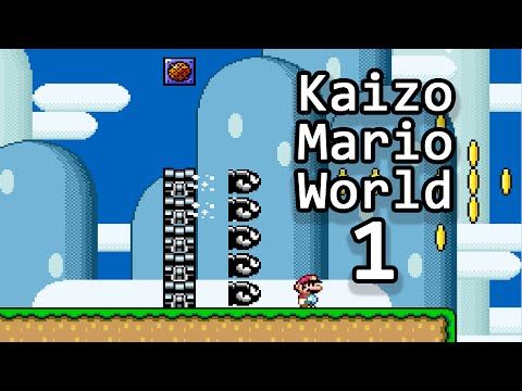 Tas Kaizo Mario World By Guy Collins Big Mario Challenge Youtube