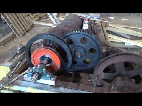Rebuilding/restoring the Shaw Box 15ton Hoist Part 6