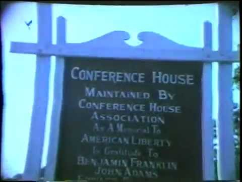 8mm Home Movie - Conference House Park, End of 1965 Staten Island Flag Day Parade