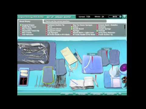 Surgical Technology Skills Builder