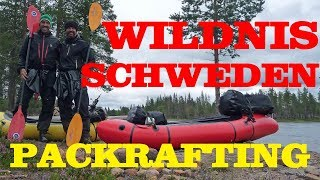 Packrafting Piteälven - Abenteuer in der Wildnis von Schweden