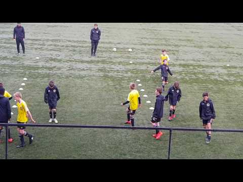 Wellington Phoenix Soccer School Coordination and Agility Drills.