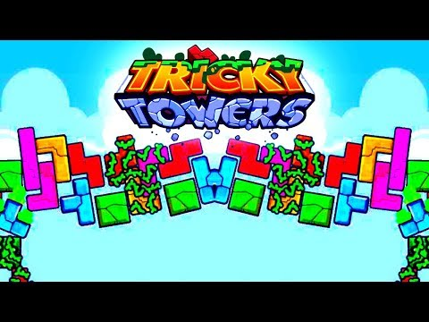 SLAPPED! - Tricky Towers with The Crew!