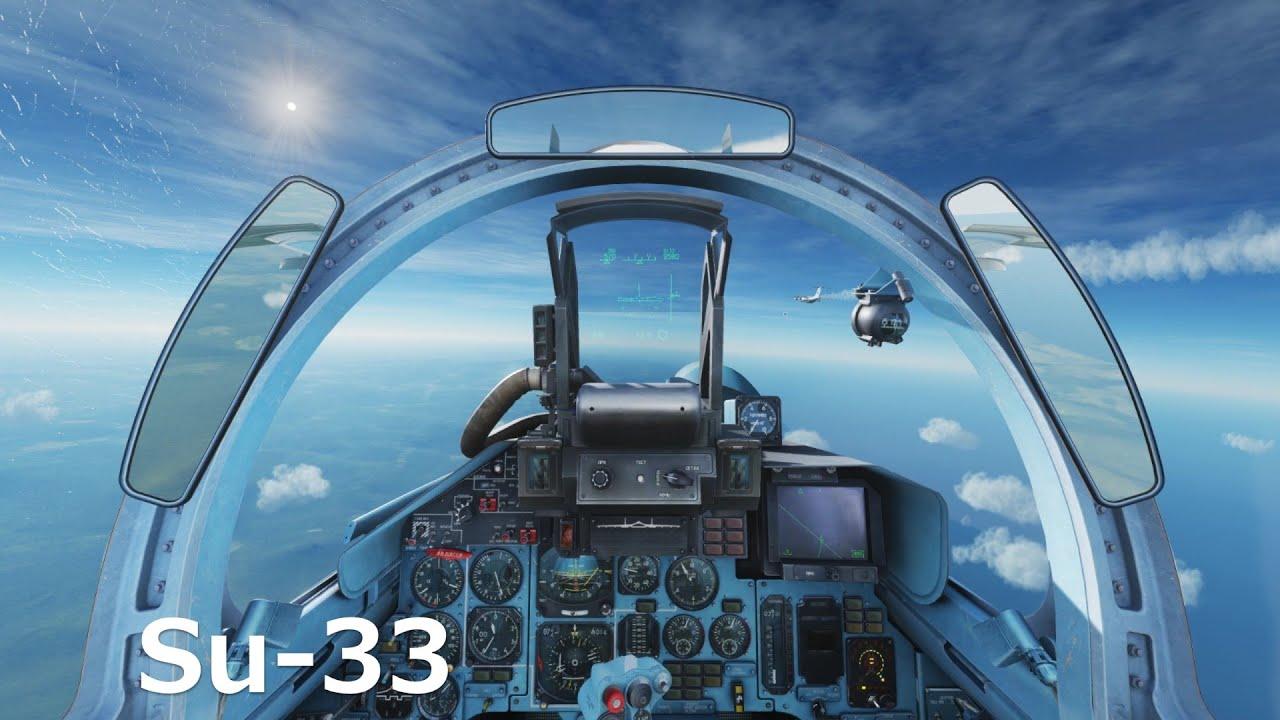 ロシアの戦闘機Su-33を操縦してみた【日本げーむ情報】(DCSワールド)