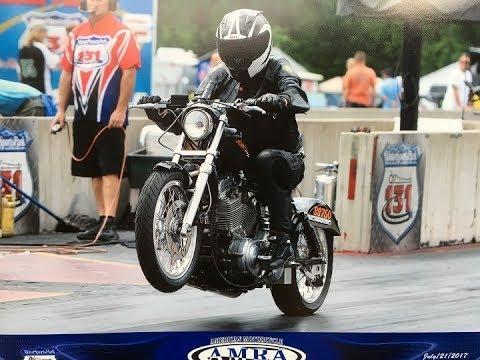 Harley Sportster Drag Bike, 1275 Hammer Kit  77 Cubic Inch Motor, AMRA  Super Street Class