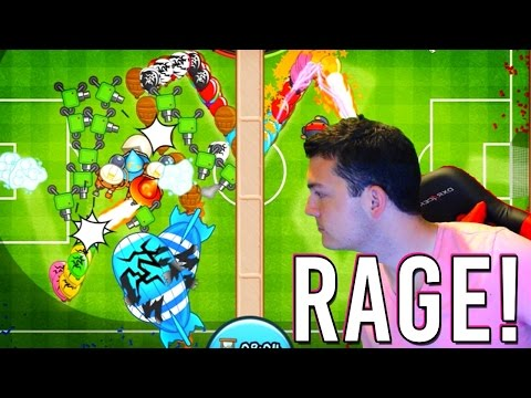 Bloons TD Battles | SCREAM RAGE QUIT! | Facing the GODLY Player Molt!