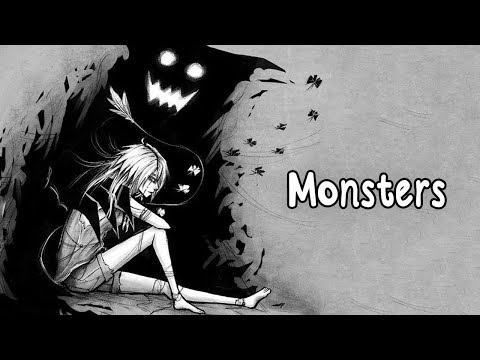 Nightcore - Monsters (Lyrics)