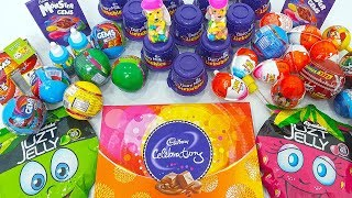 Lot's Of Candies New Kinder Joy Surprise Eggs, Dairy Milk Lickables And More Toy Chocolate thumbnail