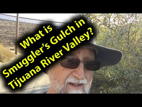What is Smuggler's Gulch in Tijuana River Valley?