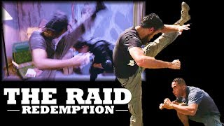 The Raid Redemption Fight Scene | Mad Dog vs Jaka