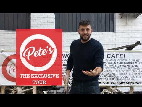 PETES ORGANIC MARKET EXCLUSIVE TOUR | SYDNEY NSW