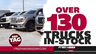 Fred haas nissan - red tag truck