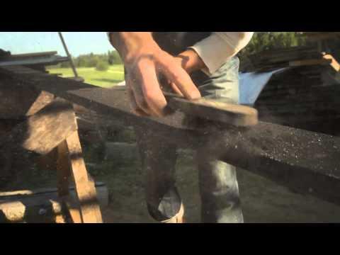 "Japanese technique of preserving/antiquing wood ""Shou-sugi-ban Yakisugi 焼き杉"""