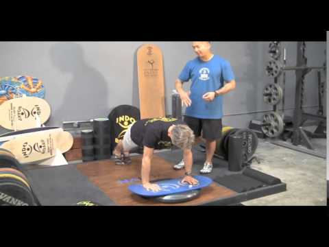 Indo Board Trainers Four Chapter 4 The Gigante and Rocker Deck