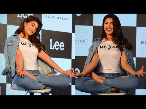 UNCUT: Jacqueline Fernandez Shows Her Yoga Stunts