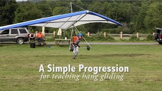 Simple Progression for Teaching Hang Gliding