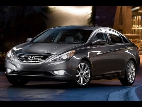 2013 Hyundai Sonata Start Up and Review 2.4 L 4-Cylinder
