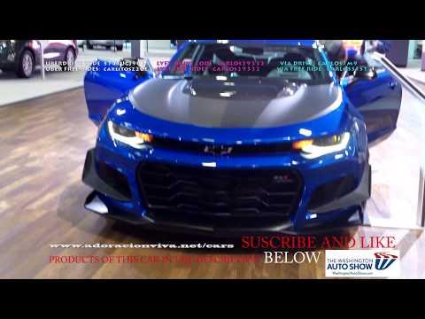 2019 CHEVY CAMARO ZL12LTSS BLUE  WASHINGTON DC AUTO  2018