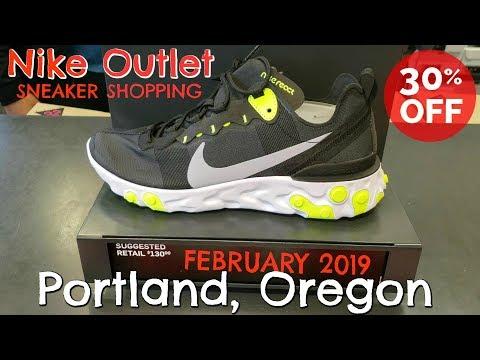 Nike Outlet SNEAKER SHOPPING | Portland, Oregon