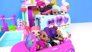 Куклы Лол Сюрприз едут на Свадьбу к Эквестрия Герлз Lol Surprise мультик! Видео для детей Pony
