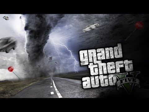 GTA 5 Mods - END OF THE WORLD TORNADO MOD (GTA 5 PC Mods Gameplay)