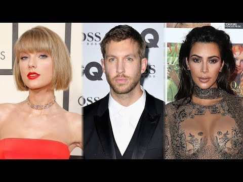 "Taylor Swift's New Album To ""Chronicle Feuds"" With Kim Kardashian, Calvin Harris"