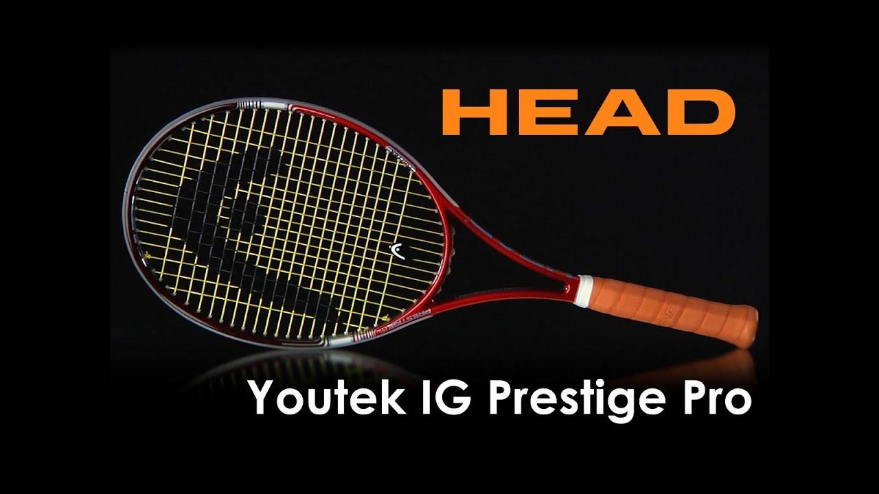 head youtek ig prestige pro racquet review youtube. Black Bedroom Furniture Sets. Home Design Ideas