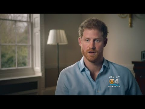 Prince Harry Points Finger Of Blame On Paparazzi For Princess Diana's Death