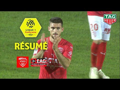 Nîmes Olympique - EA Guingamp ( 0-0 ) - Résumé - (NIMES - EAG) / 2018-19