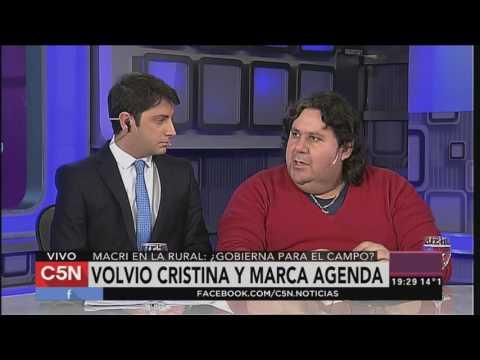 C5N - Politica: Volvió CFK y le marca agenda a Macri