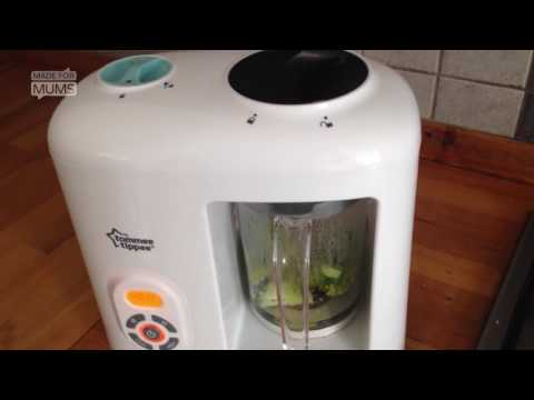 7 pros and cons of the Tommee Tippee Steamer Blender | MadeForMums vlogger review