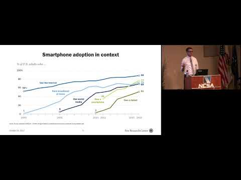 Trends in mobile adoption with Pew Research Center  | Aaron Smith, Pew Research Center