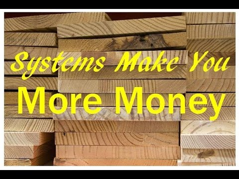 Woodworking Business Opportunities – Creating Systems Makes More Money For Your Wood Shop